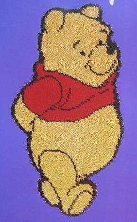 Winnie The Pooh Latch Hook Rug Kits Home Decor