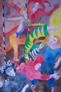 Pintura Percy Herrera Arancibia