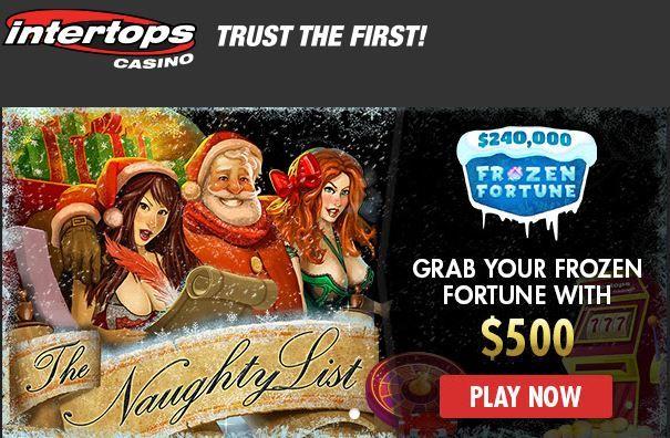 Intertops casino sign up and latest bonuses 2019