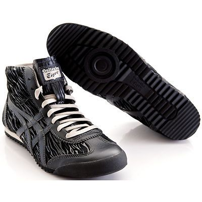 onitsuka tiger mexico 66 slip on black and white leather nba