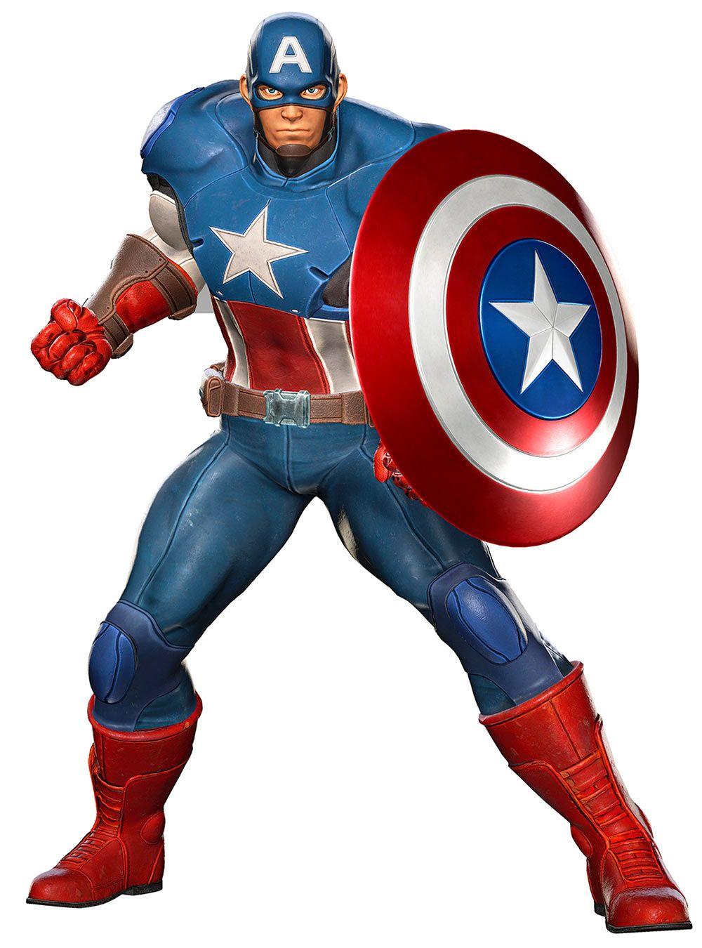 Captain America from Marvel vs. Capcom: Infinite   Characters ...