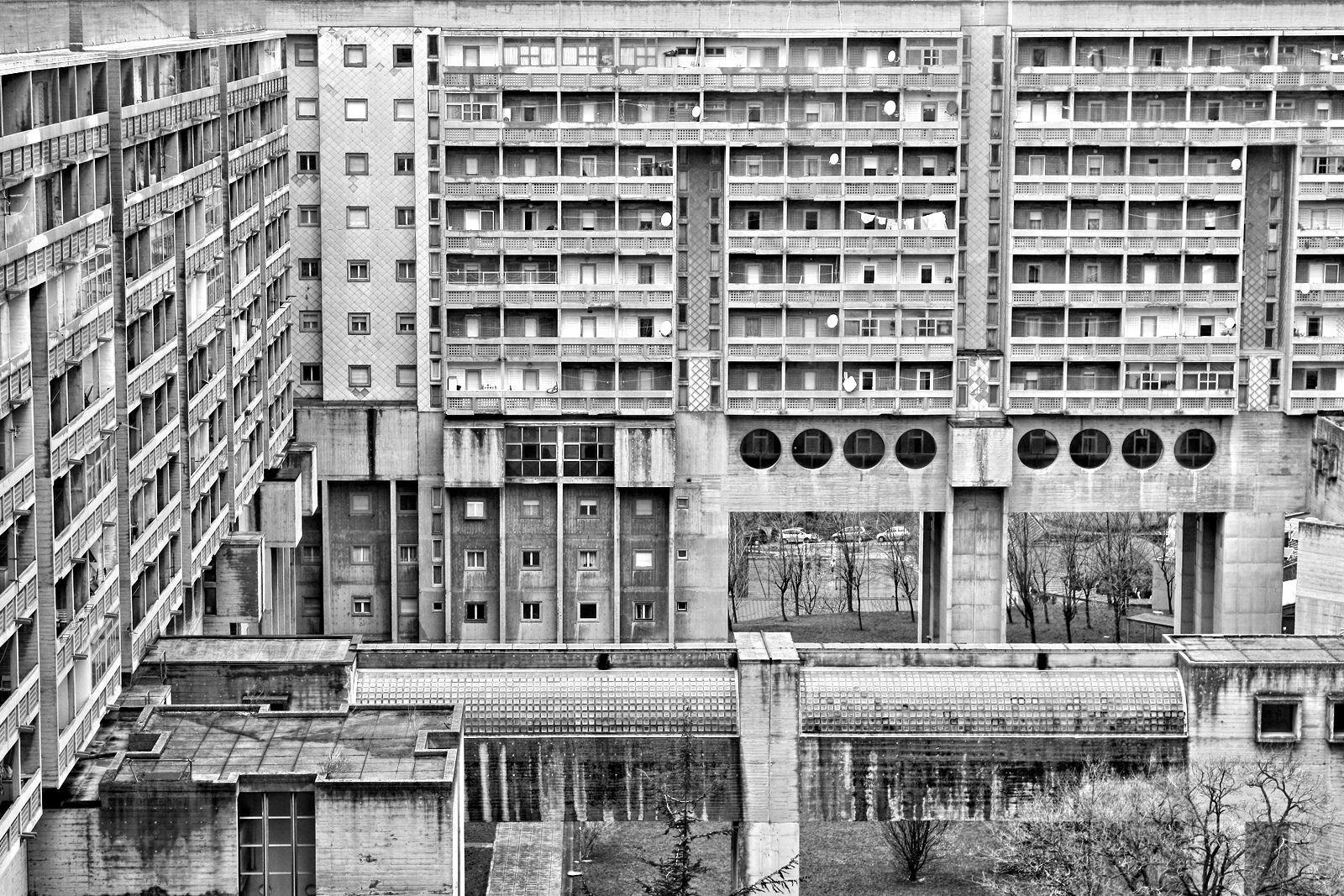 Rozzol Melara Modern architecture design, Architecture