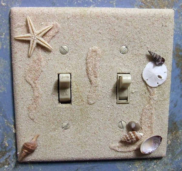 20 Creative Ways To Decorate Your Light Switches Beach Theme