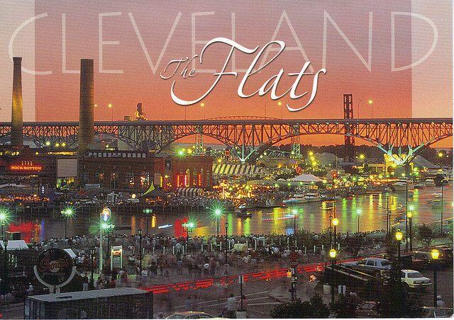 Ohio The Flats Cleveland Ohio Cleveland Ohio Cleveland