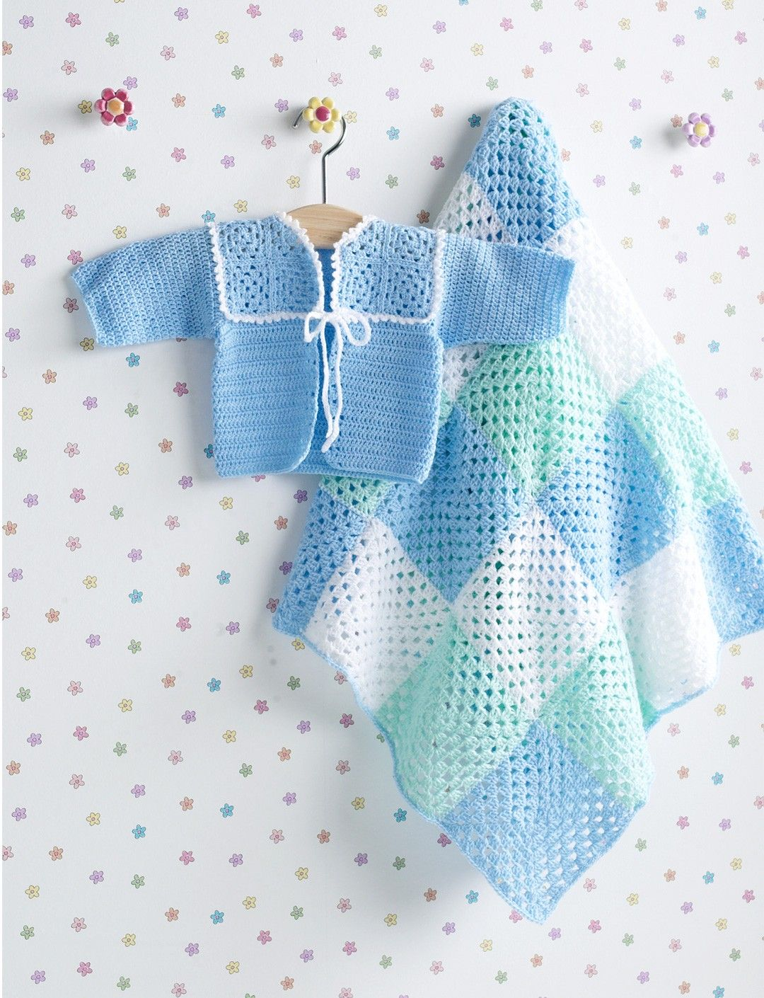 Boy\'s Jacket & Granny Square Blanket | crochet | Pinterest | Häkeln ...