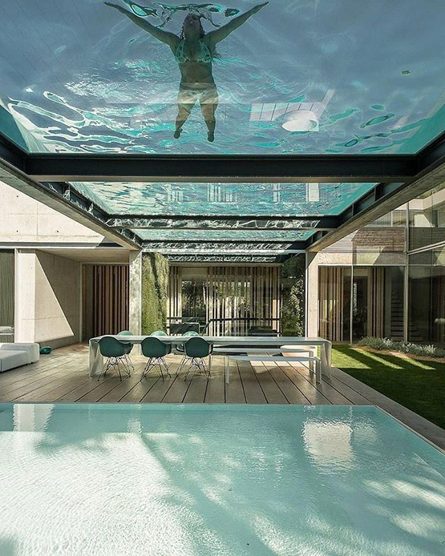 Luxury Pool House: The Wall House Designed By Guedes Cruz Architect's, In