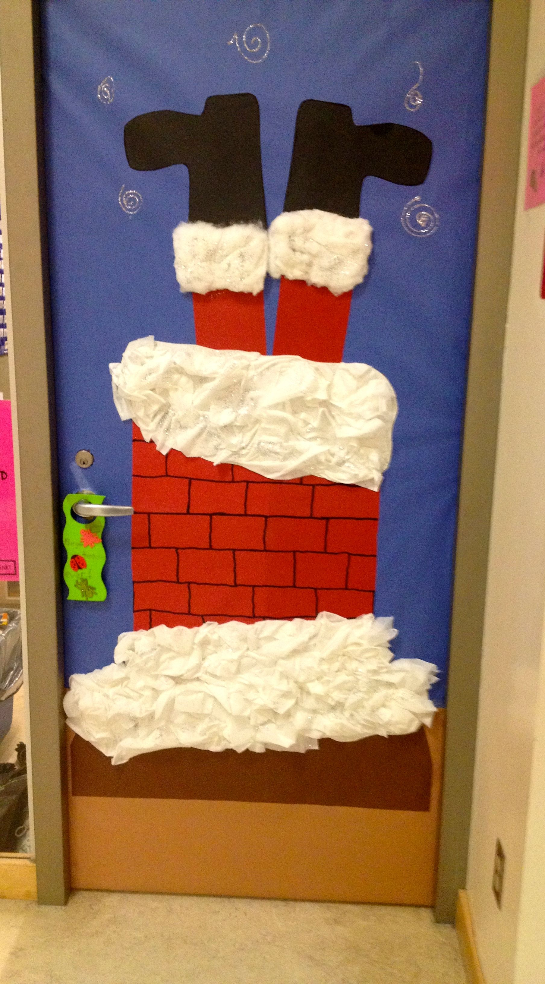 bulletin boards, classroom doors and part 3 | christmas door