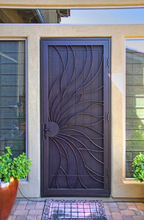 Pin By Janicek On Sicherheitsgitter In 2020 Security Screen Door Grill Door Design Door Design