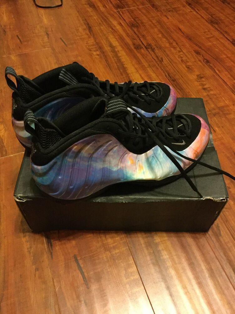 designer fashion a30af 1704d Nike Foamposite BIG BANG Galaxy Sz 10 Real Shoes Not Second ...