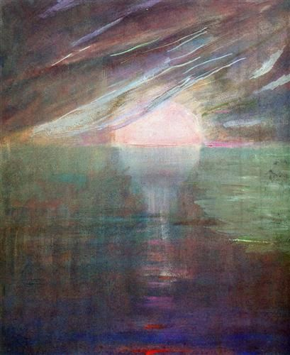Creation of the World XIII - Mikalojus Ciurlionis
