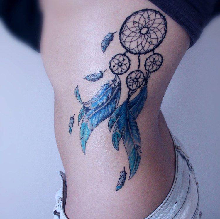 Traumfänger Tattoo: Bedeutung, Vorlagen, 50+ Ideen für