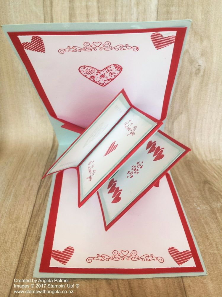Twist And Pop Card Sealed With Love Anniversary Card Sending Love Dies Happy Anniversary Cards Anniversary Cards Love Cards