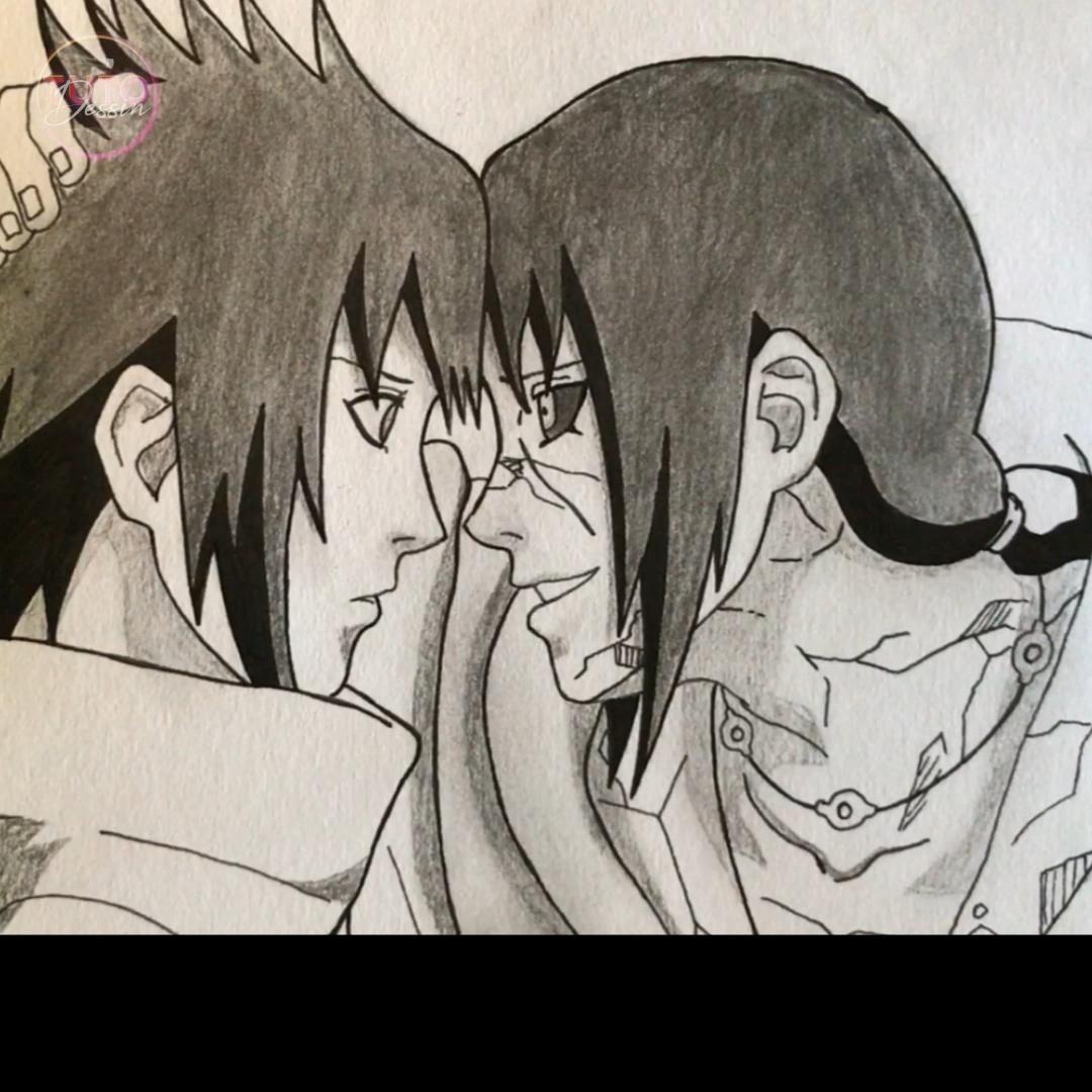 Photo of Comment dessiner Itachi Uchiha
