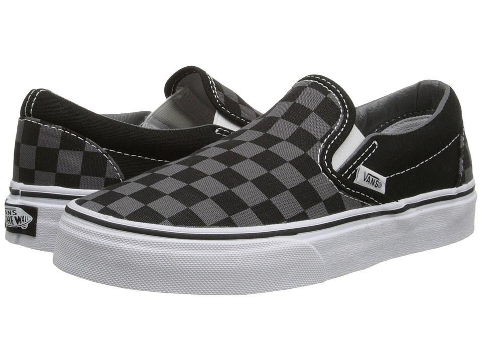 a68335f9e94bc Vans Classic Slip-Ontm Core Classics Shoes (Checkerboard) Black ...