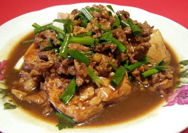 Resep Tahu Ayam Kecap Oleh Susanti Resep Resep Tahu Resep Resep Makanan