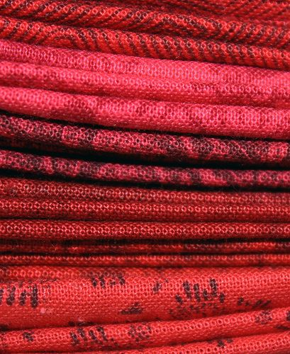 red fabric strips | Flickr - Photo Sharing!