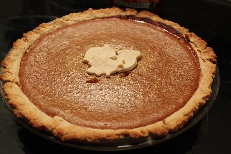Homemade Pumpkin Pie (from whole pumpkin)