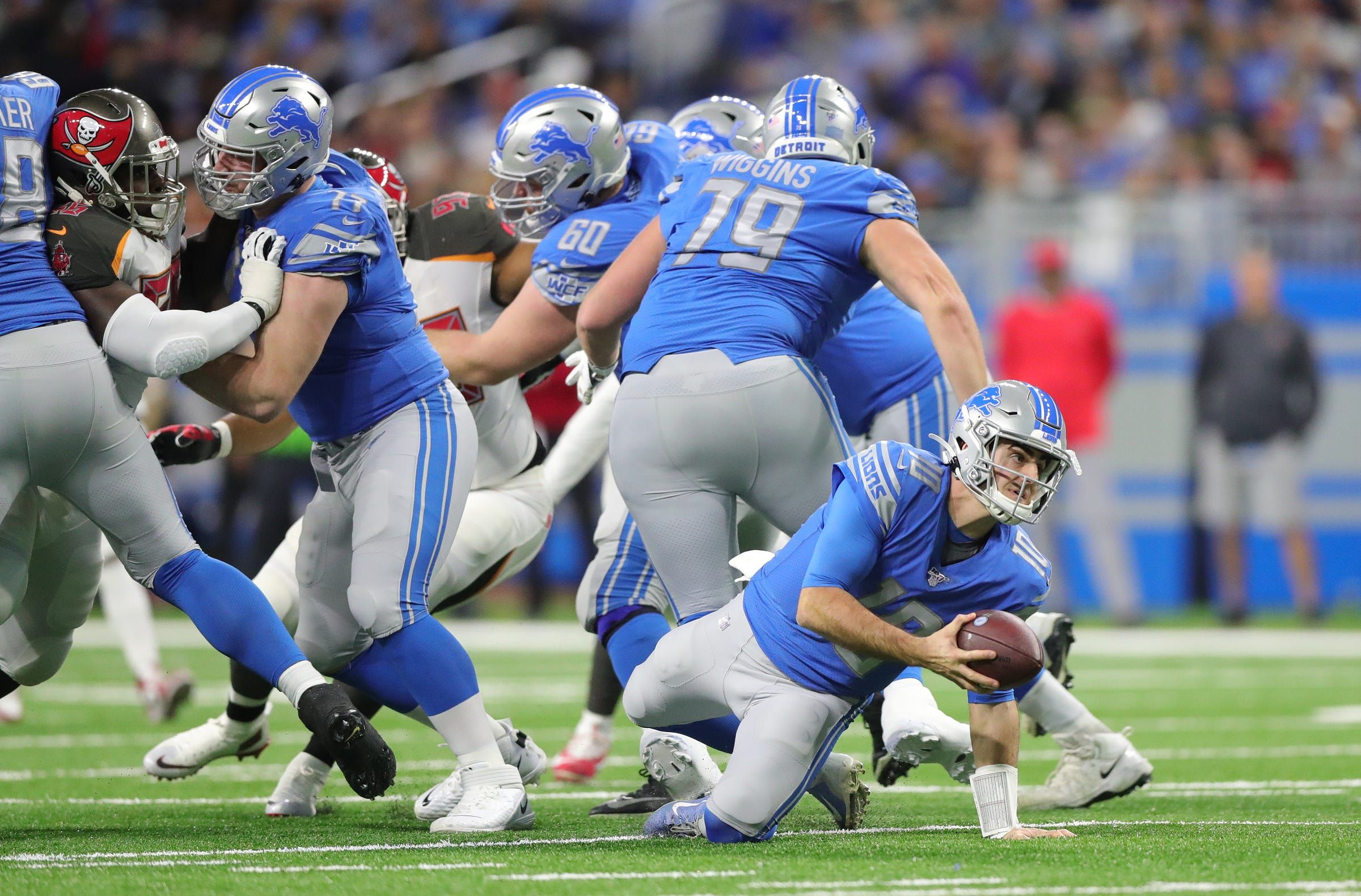Detroit lions plagued by 3andouts in losing streak we