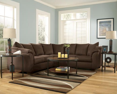 Room Velvet Tulip Sectional At Menards