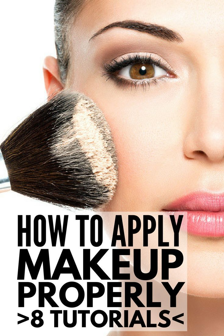 8 tutorials to teach you how to apply makeup like a pro