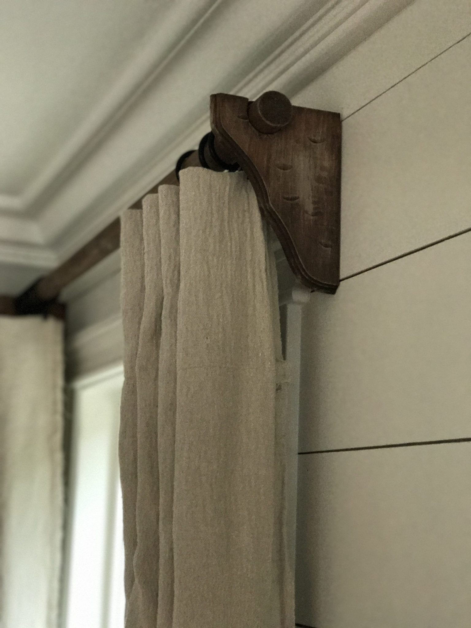 The Best Diy Curtain Rods Expensive Look Cheap To Do