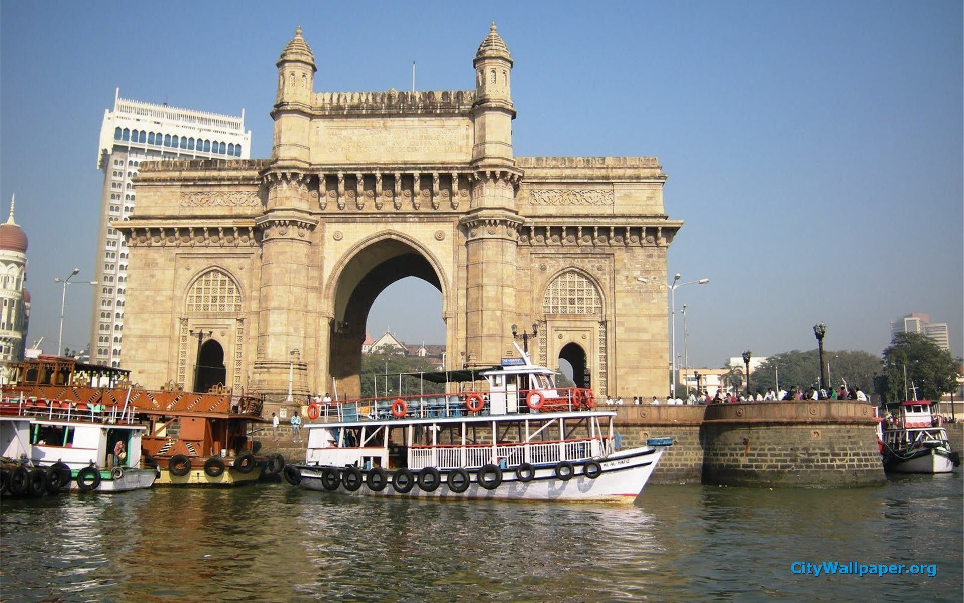 City Of India Gateway Of India Mumbai City High