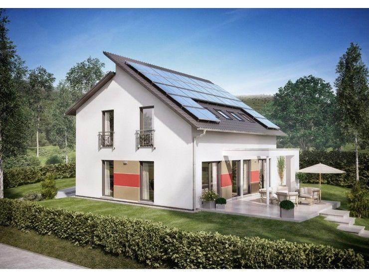 Einfamilienhaus modern pultdach  Innovation R - Haus R140_2_V21 - #Einfamilienhaus von RENSCH-HAUS ...