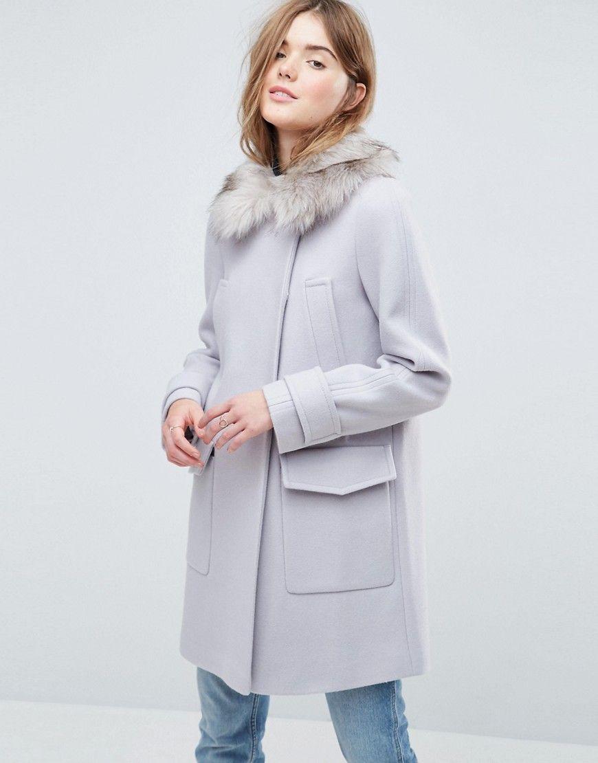 Mantel grau damen asos