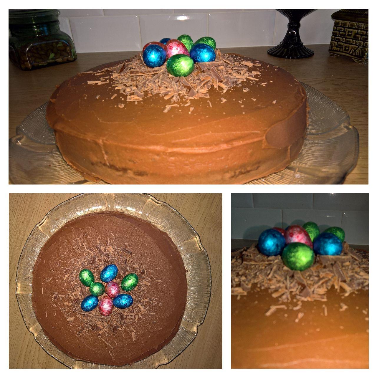 Pääsiäisen 2016 suklaakakku