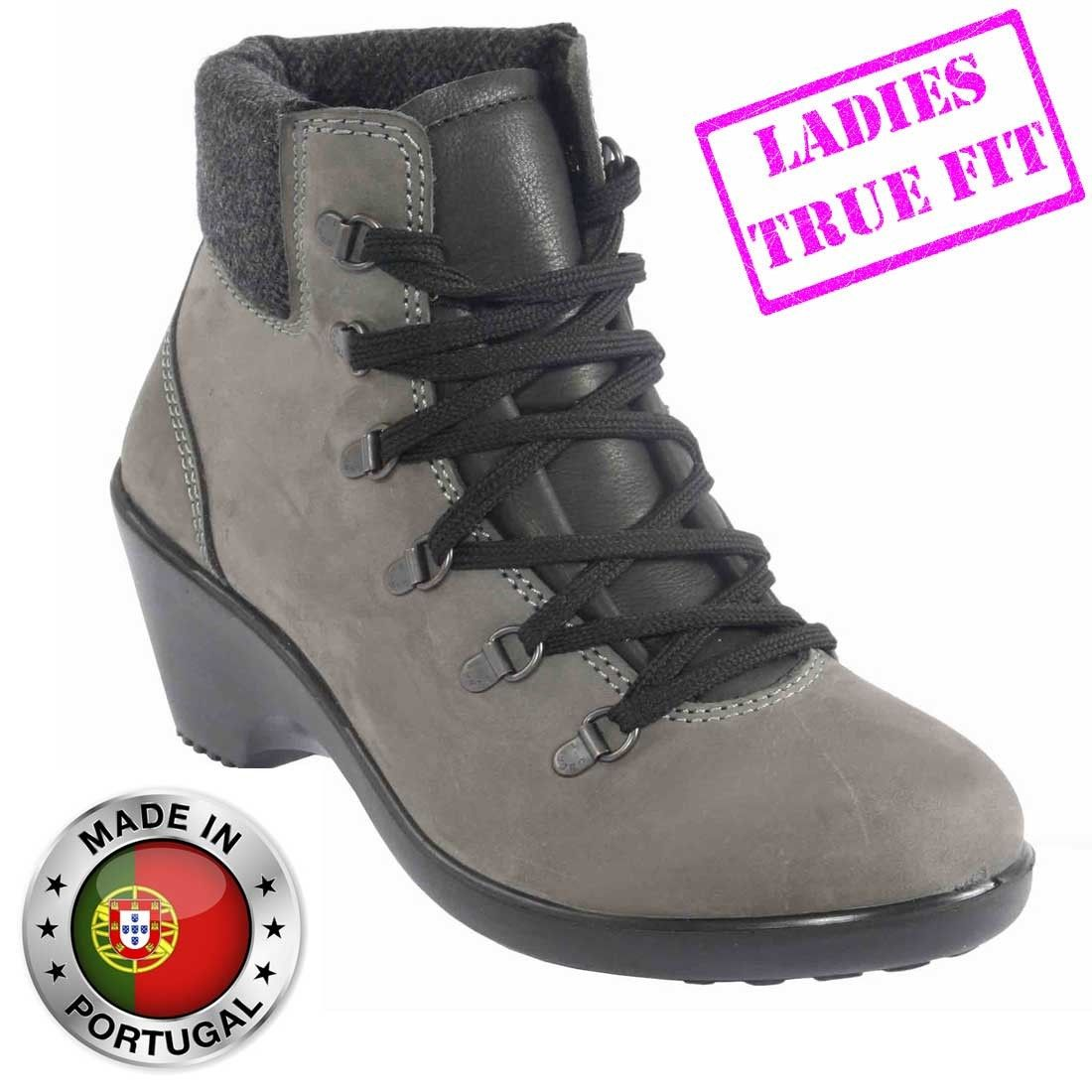 Womens Lavoro Wedge Heel Geena S3 Fashion Safety Boots  156686f01e