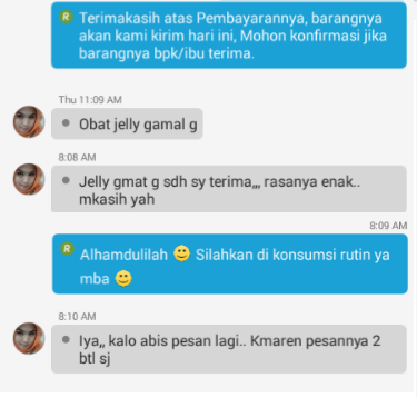 Image result for testimoni qnc jelly gamat