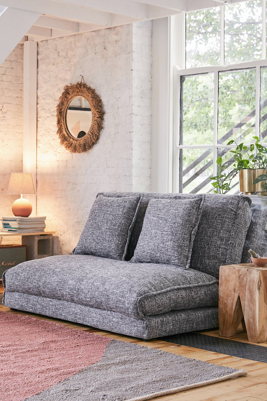 Koemi Convertible 2 Seat Sofa Sofa Bed For Small Spaces Floor
