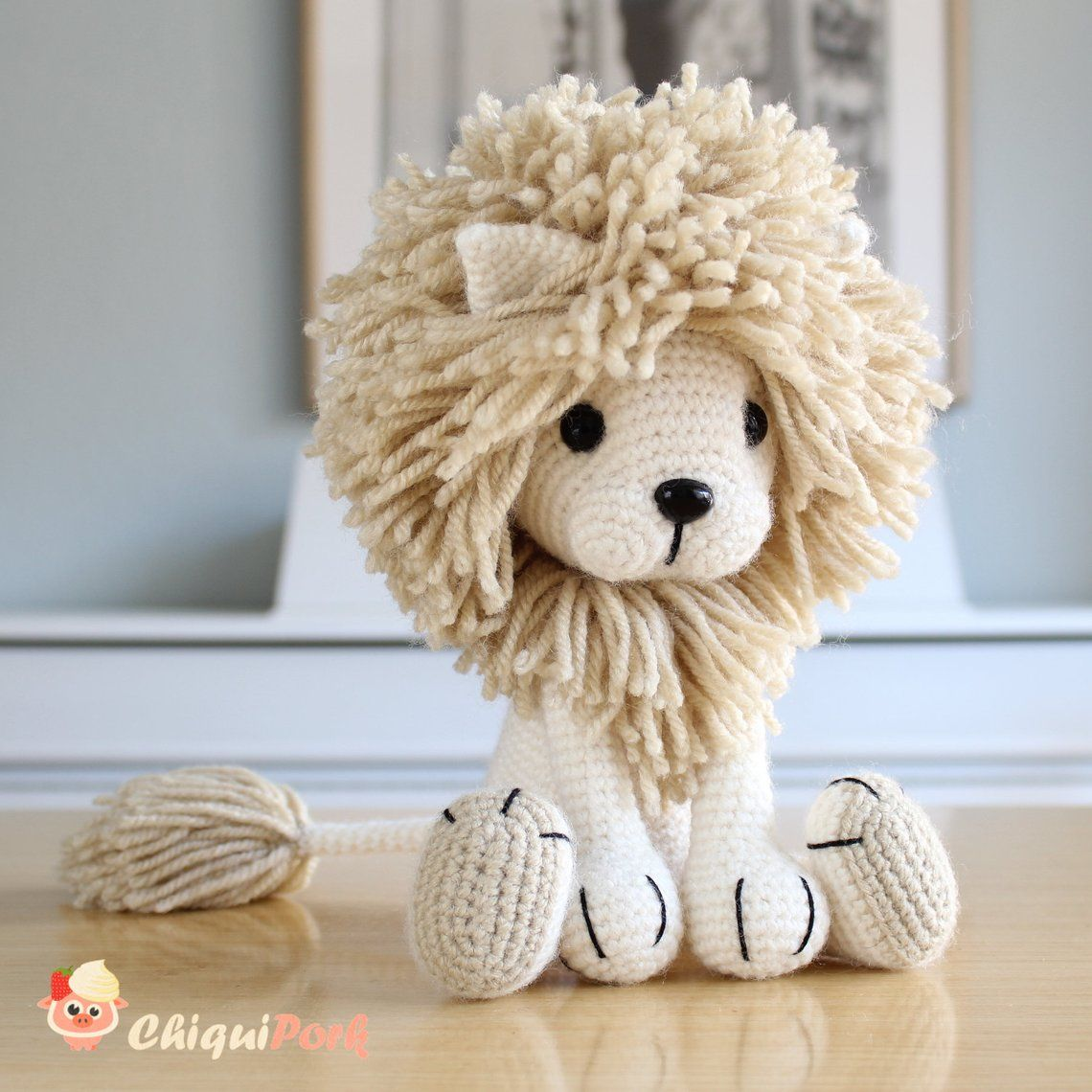 Lion Crochet PATTERN Amigurumi patterns pdf tutori