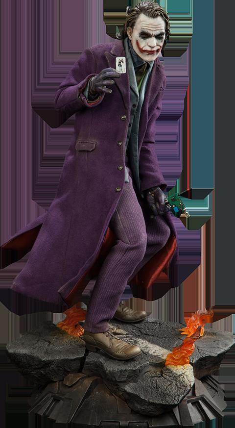 The Joker The Dark Knight Premium Format Figure Figuras De Marvel Figuras De Anime Disfraces Superheroinas