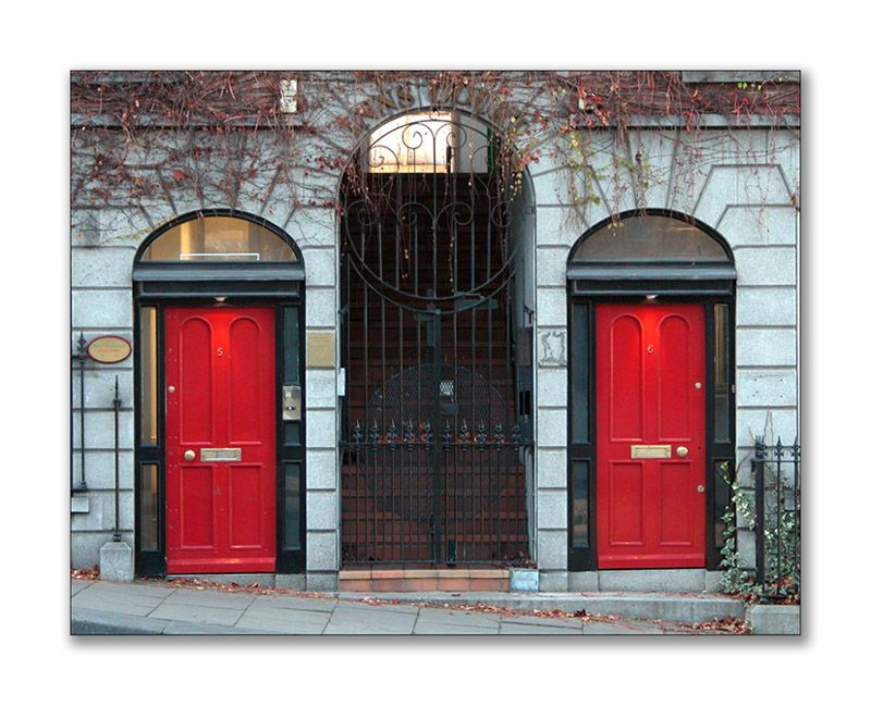 Famous Architectural Doors | ... of charming red doors showing a variety of architectural  sc 1 st  Pinterest & Famous Architectural Doors | ... of charming red doors showing a ... pezcame.com