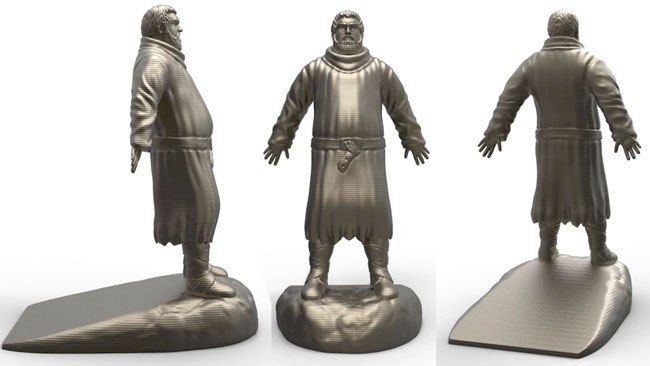A Kickstarter for a licensed Hodor door stop has raised over $50,000 in under a week.
