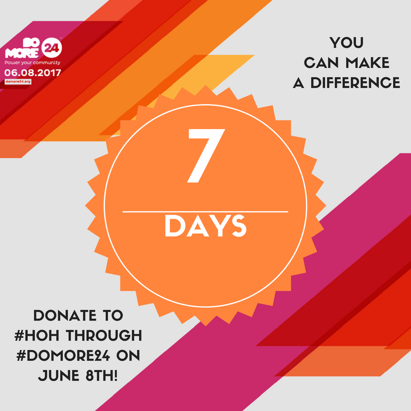 Domore24 Is 7 Days Away Mark Your Calendars For June 8th When Over 600 Nonprofits In Our Area Will Join Forces To Job Placement New Career Hiring Our Heroes