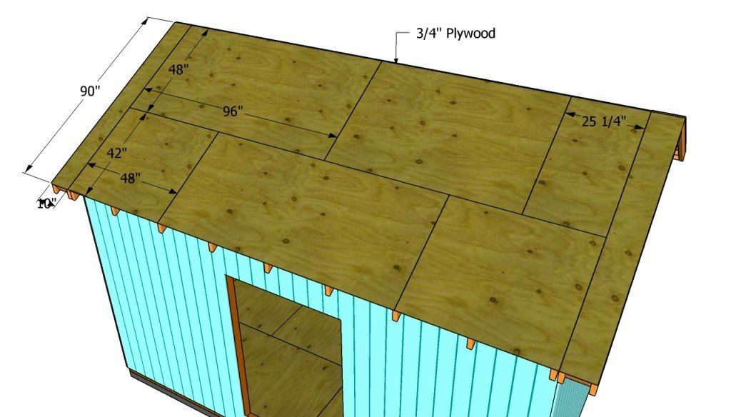 How To Build A Roof For A 12x16 Shed Howtospecialist How To Build Step By Step Diy Plans In 2020 Building A Shed Roof Build A Shed Kit Shed Plans