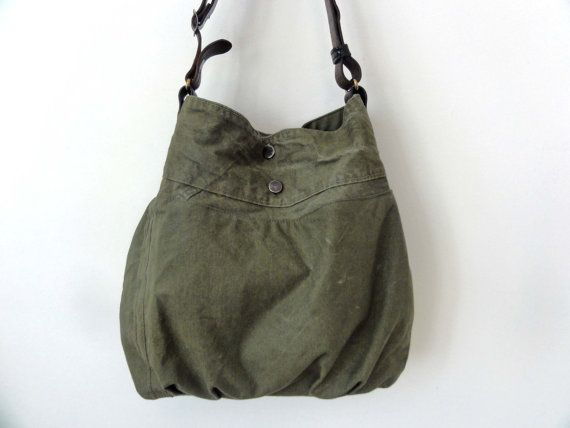 The Madeline Bag Recycled Tent Canvas Bag by jackandmarjorie  sc 1 st  Pinterest & The Madeline Bag Recycled Tent Canvas Bag by jackandmarjorie ...