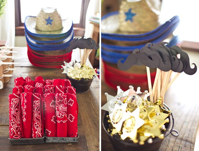 In Style Party Favors: I Have Been Super Into The Whole Western/Cowboy Party