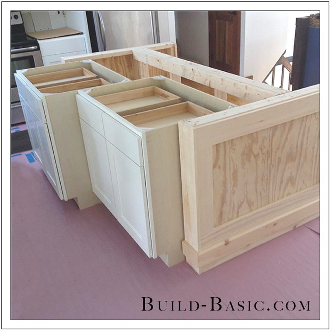 Jenn L Build Basic On Instagram I Made Two Simple Ends For My Cabinets To Turn Them Into In 2020 Building A Kitchen Kitchen Remodel Layout Kitchen Remodel Small