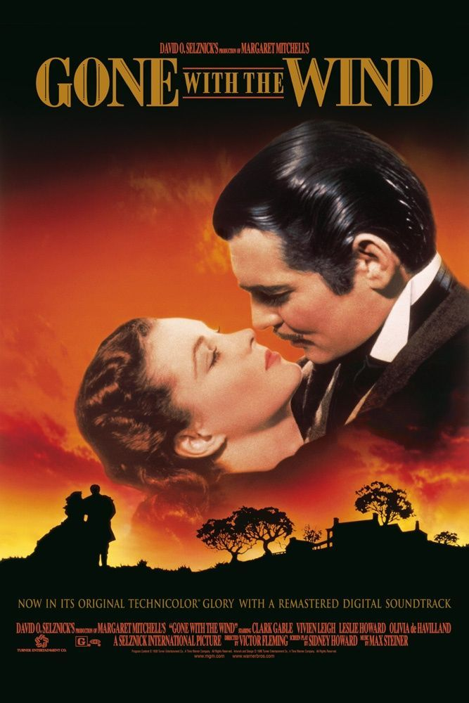 Gone With The Wind Movie Giclee Canvas Picture Wall Art