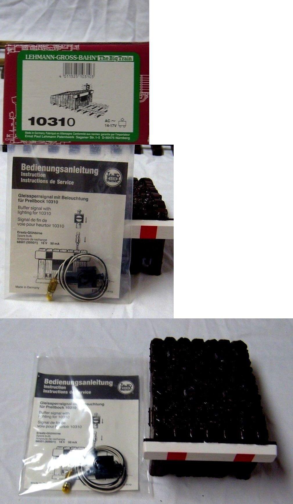 Prellbock mit Beleuchtung LGB 10310 NEU