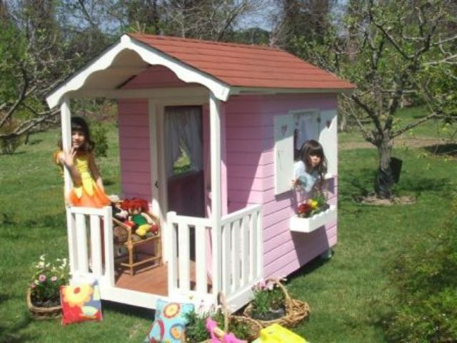 Casas de mu ecas y parques infantiles en bogot for Casa madera infantil