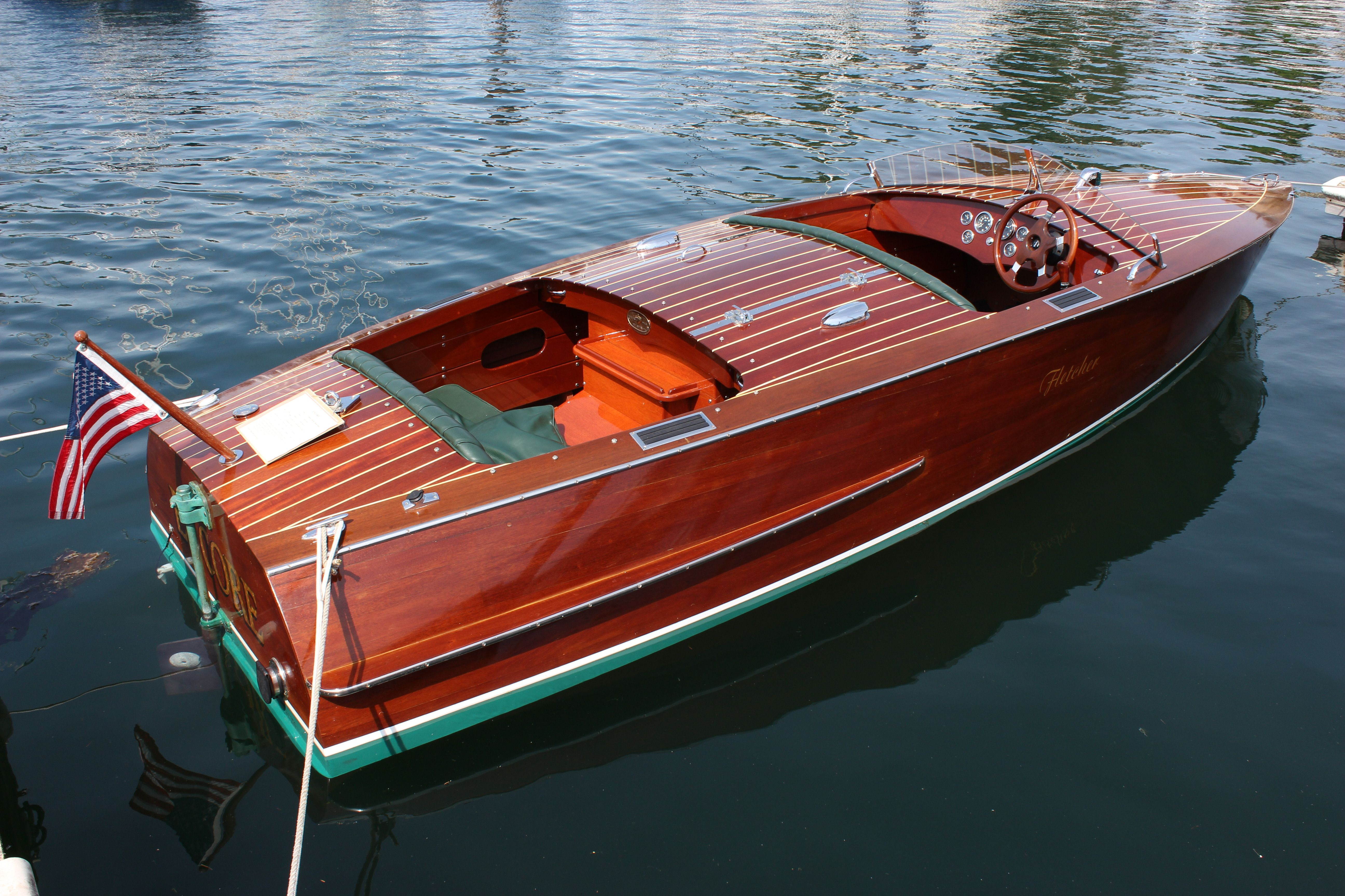 Wooden_Boat #woodenboat | Wooden boat fine art | Classic wooden boats, Boat, Runabout boat