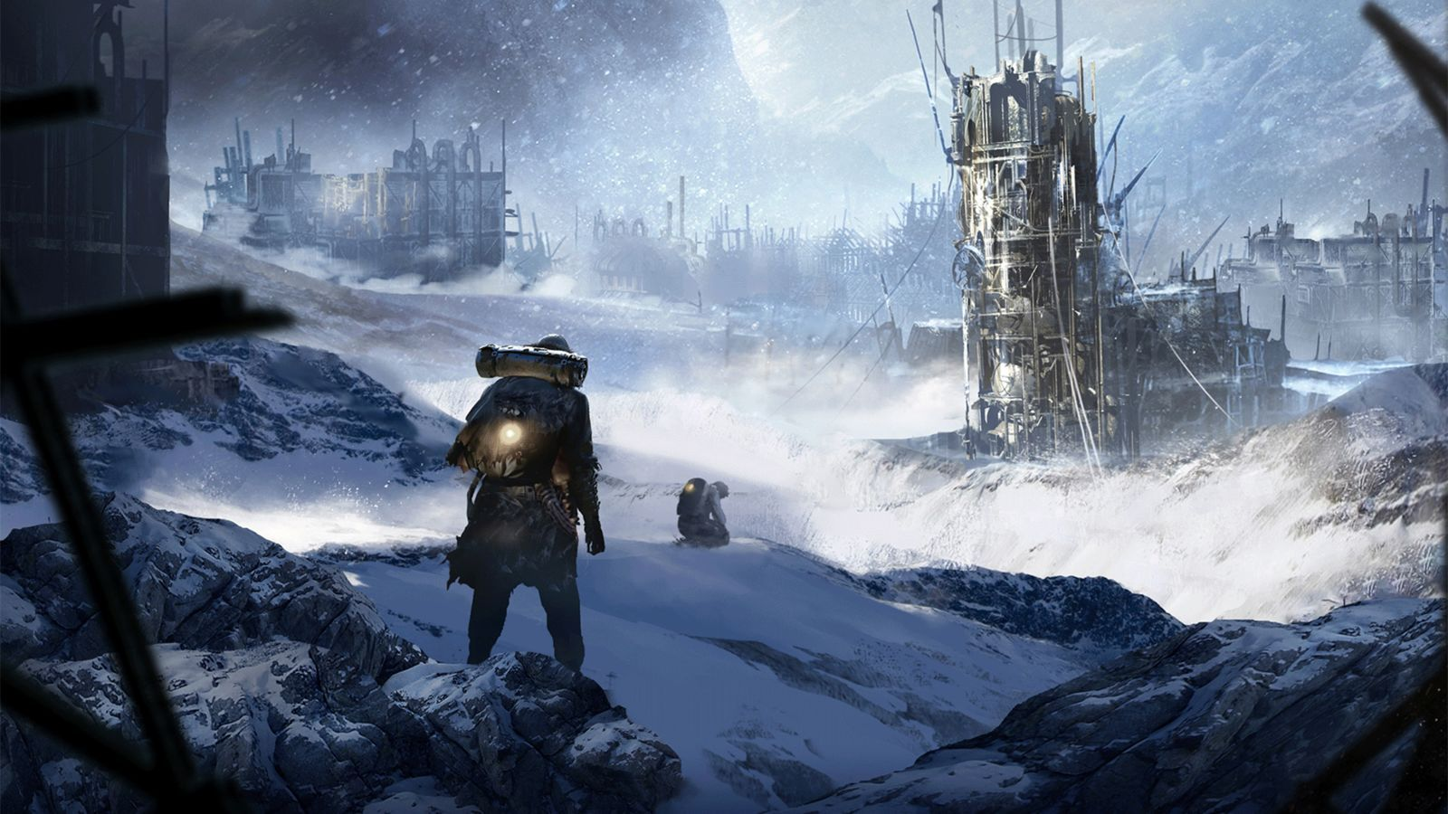 The Art Of Frostpunk Game Concept Art Concept Art Art