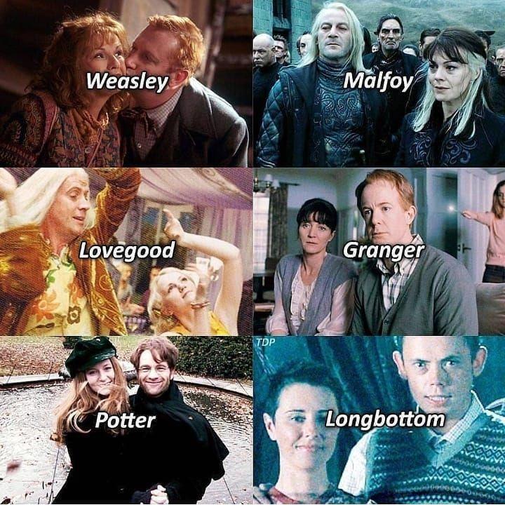 Familien In Harrypotter Familien Harrypotter Harry Potter Film Harry Potter Traurig Harry Potter Lustig