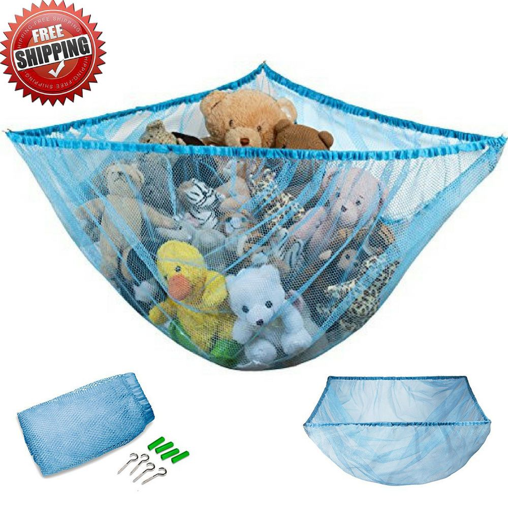 11++ Stuffed animal storage net ideas