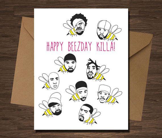 Wutang Clan Birthday Card Funny For Boyfriend Rap Rapper