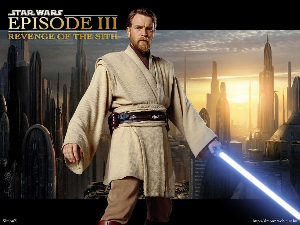 Obi Wan Kenobi Heroe Retro